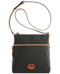 Dooney And Bourke Nylon Crossbody Black