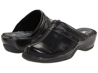 Softwalk Abby Black Women's Clog Mule Shoes