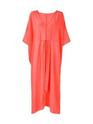 L'agent By Agent Provocateur Holly Cover Up Coral One Colour
