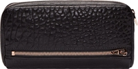 Alexander Wang Black Grained Leather Fumo Continental Wallet