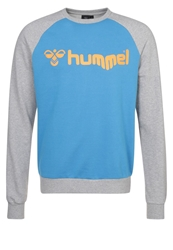 Hummel Classic Sweatshirt Swedish Blue Grey Melange