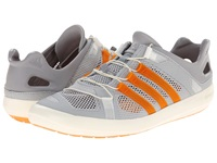 Adidas Outdoor Climacool Boat Breeze Clear Onix Lucky Orange Mid Grey Men's Shoes Gray