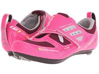 Louis Garneau Tri X Speed Ii Pink Glow Women's Cycling Shoes