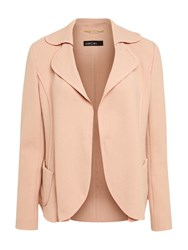 Marc Cain Wool Blend Tailored Jacket Rosewood