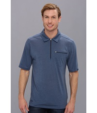 Outdoor Research Sequence S S Polo Dusk Night Men's Short Sleeve Pullover Gray
