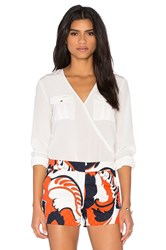 Trina Turk Carter Top White