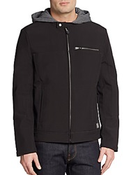 Kenneth Cole Reaction Hooded Jacket Black