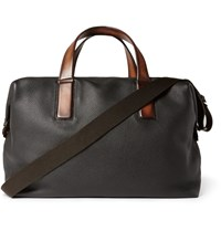 Berluti Moderniste Full Grain Leather Holdall Black