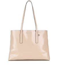 Miu Miu Patent Leather Tote Neutrals