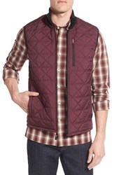 Victorinox Swiss Armyr Men's Army 'Quilted Matterhorn Ii' Water Repellent Vest Langdon Purple