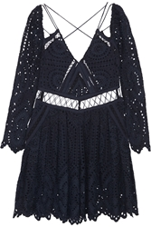 Zimmermann Riot Eyelet Broderie Anglaise Playsuit