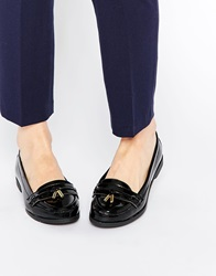 New Look Flat Loafer Shoes With Tassles Black
