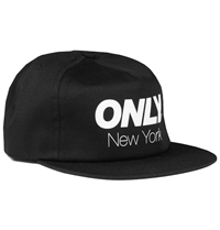 Only Ny Athletic Snapback Cap In Black Huh. Store
