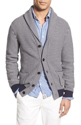 Men's Barbour Stripe Shawl Cardigan