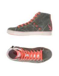 Australian Footwear High Tops And Trainers Women Military Green