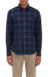 Hartford Men's Paul Cotton Shirt Navy