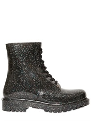 G Six Workshop Ginny Glitter Lace Up Boots