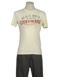 Chevignon Short Sleeve T Shirts Ivory