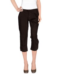 Jeckerson Trousers 3 4 Length Trousers Women Dark Brown