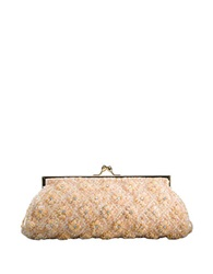 Carlo Fellini Sofia Clutch Handbag Gold