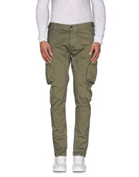 Takeshy Kurosawa Trousers Casual Trousers Men Military Green