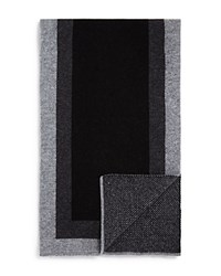 Bloomingdale's The Men's Store At Frame Scarf Black Grey