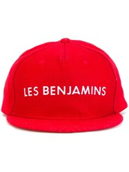 Les Benjamins Embroidered Logo Cap