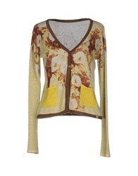 Szen Cardigans Yellow