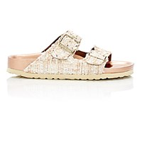Birkenstock Women's Tweed Arizona Double Buckle Sandals Tan