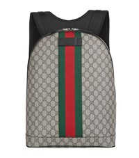 Gucci Canvas Backpack Unisex Beige