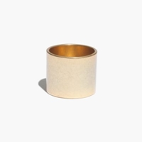 Madewell Band Ring Light Worn Gold