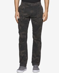 Calvin Klein Men's Camo Print Cargo Pants Summit