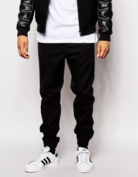 New Look Chino Joggers Black