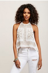 Free People Womens Fpx Cross Stitch Halter
