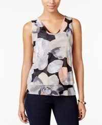 Inc International Concepts Floral Print Shell Only At Macy's Photo Petal