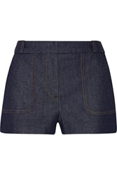Victoria Beckham Stretch Denim Shorts
