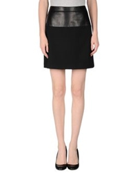 Andrew Gn Knee Length Skirts Black