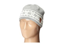 Dale Of Norway Alpina Hat Light Charcoal Cream Knit Hats Gray
