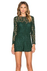 Bb Dakota Dasha Romper Green