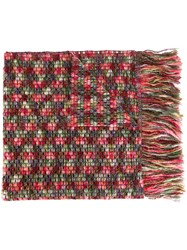 Missoni Knitted Scarf Green