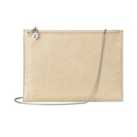 Aspinal Of London Soho Pouch Gold