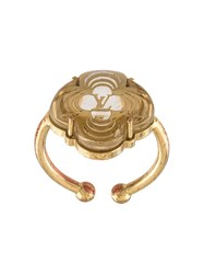 Louis Vuitton Vintage 'A La Folie' Ring Metallic