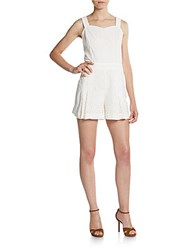 1.State Eyelet Short Jumpsuit Cloud