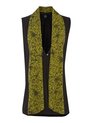 Tigi Shawl Gilet Black