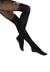 Pretty Polly Christmas Tights Black