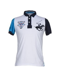 Beverly Hills Polo Club Polo Shirts White