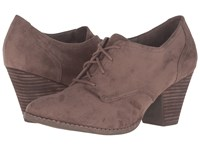 Dr. Scholl's Cheer Stucco Microsuede Women's Shoes Taupe