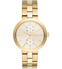 Michael Kors Mk6408 Garner Gold Plated Stainless Steel Chronograph Watch
