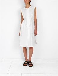Caron Callahan Margaret Dress White