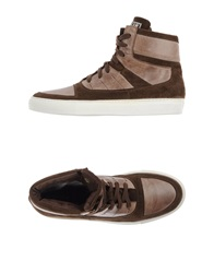 Frankie Morello Sneakers Dark Brown